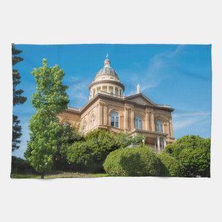Historisk kastanjebrun Kalifornien domstol Kökshandduk