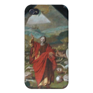 Historisk målning som är trä överbryggar, Lucerne, iPhone 4 Hud