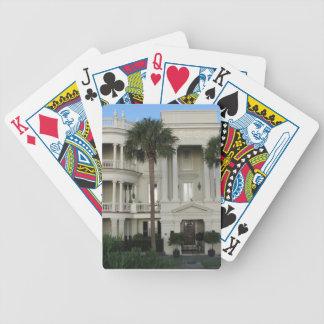 Historiskt hem för Charleston SC som leker kort Spelkort