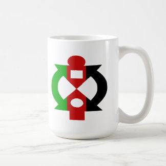 Hjälp mig att hjälpa dig den Kwanzaa muggen Kaffemugg