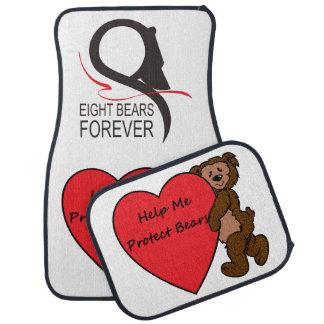 Hjälp mig att skydda björnar bilmatta