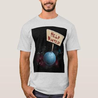 Hjälp önskad jord - skjorta tröjor