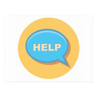 Hjälp Vykort