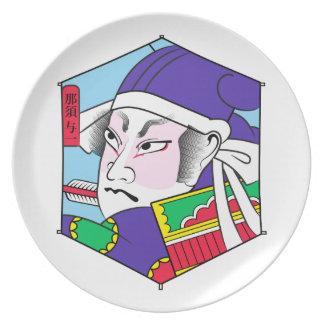 Hjältar av åldrarna: Nasuno Yoichi Tallrik