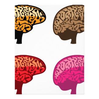 Hjärna Brevhuvud