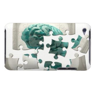 Hjärnanalys, begreppsmässig datorillustration iPod Case-Mate cases