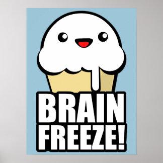 Hjärnfrysning Poster