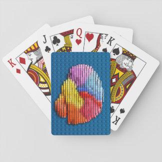 Hjärnkvarter som leker kort casinokort
