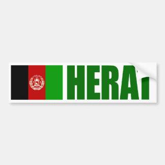 Hjärta Afghanistan flagga Bildekal