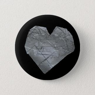 Hjärta av kanalen tejpar standard knapp rund 5.7 cm