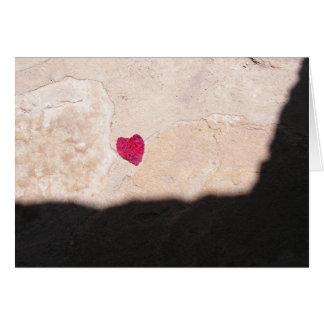 Hjärta av min beskickning hälsningskort