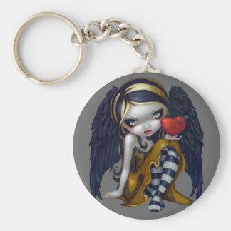 """""""Hjärta av naglar"""" Keychain Nyckelring"""