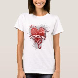 Hjärta Foosball T Shirts