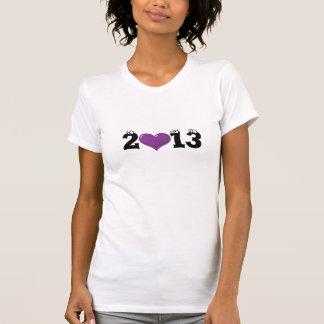 Hjärta för 2013 Violet T-shirt