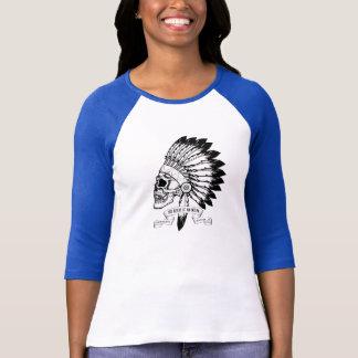 Hjärta för XL-baseballskjorta av indier with'87 T Shirt