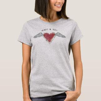 """Hjärta &"" grundläggande T-tröja Soul-2 T-shirts"