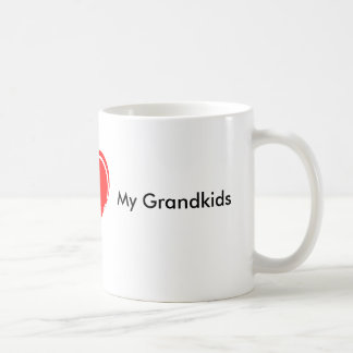 hjärta I, mitt barnbarn Kaffemugg