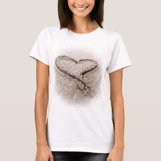 hjärta i sanden tröja
