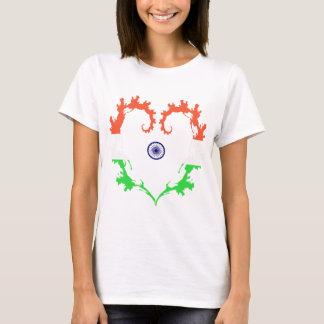 hjärta-Indien T-shirt