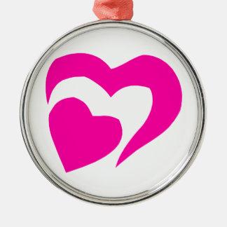 Hjärta Julgransprydnad Metall