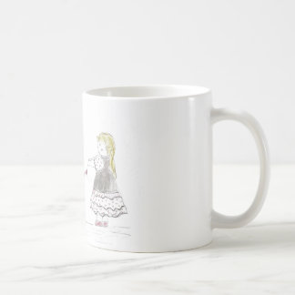 hjärta kedjar (mors dag) kaffemugg