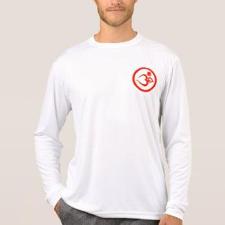 Hjärta Om undertecknar - den Microfiber Tee Shirt