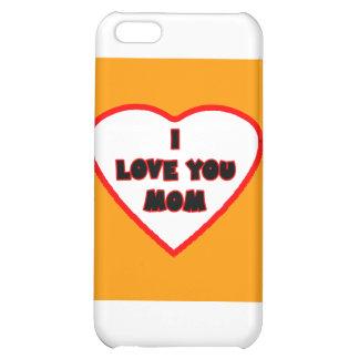 Hjärta orange Transp fyllde de MUSEUMZazzle iPhone 5C Skydd