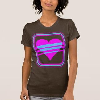 Hjärta & randar för vintage för Corey tiger80-tal T Shirt