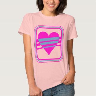 Hjärta & randar för vintage för Corey tiger80-tal T Shirts