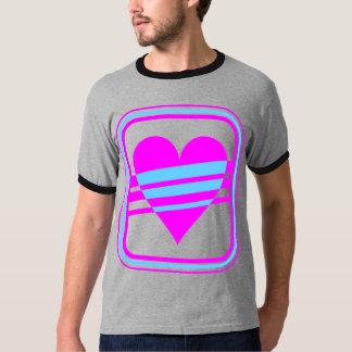 Hjärta & randar för vintage för Corey tiger80-tal Tee Shirts