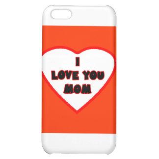 Hjärta röda orange Transp fyllde det MUSEUMZazzle iPhone 5C Fodral
