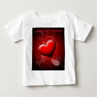 Hjärta skuggar abstrakt t shirts