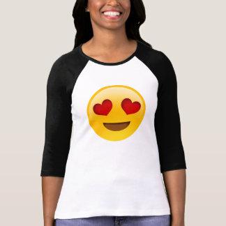 Hjärta synar EmojiTee T-shirts
