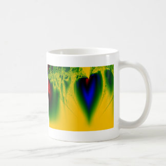 Hjärta takt kaffemugg