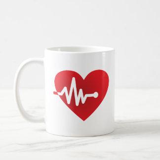Hjärta-Takt Kaffemugg