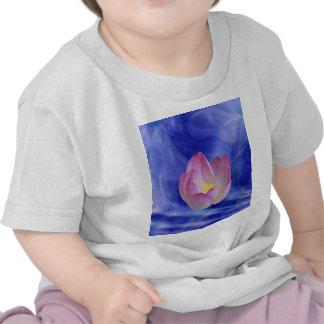 Hjärta till hjärtalotusblommablomman t shirts