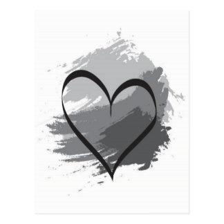 Hjärta Vykort