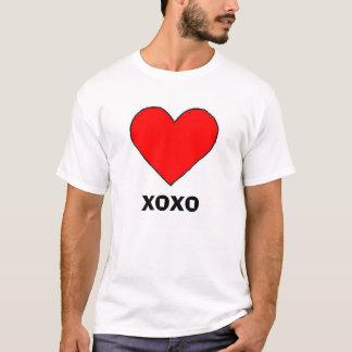 hjärta XOXO T-shirt
