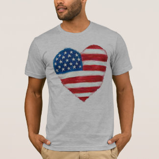 HjärtaAmerika T-tröja T-shirts