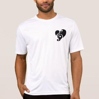-hjärtad utslagsplatser för Male musik Tee Shirts