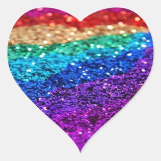 Hjärtaklistermärke Hjärtformat Klistermärke