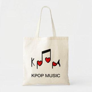 Hjärtakoreanpopmusik! Budget Tygkasse