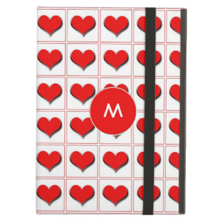 Hjärtakortkostym med monogramen