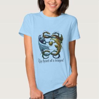 Hjärtan av en drake! tee shirts