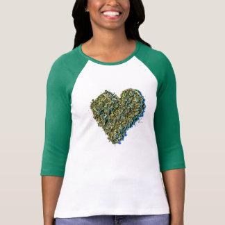 Hjärtaogrässkjorta Tee Shirt