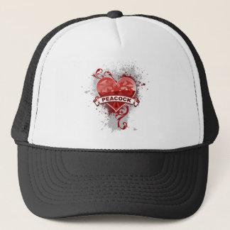 Hjärtapåfågel Keps