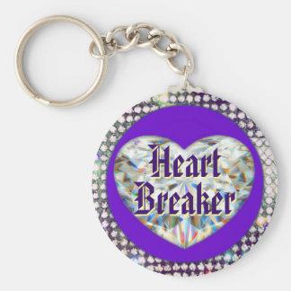 Hjärtasäkerhetsbrytare Keychain! Nyckelring