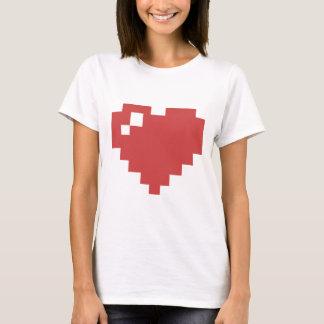Hjärtaskjorta för W 8bit Tee