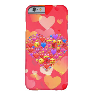 Hjärtasmiley Barely There iPhone 6 Skal