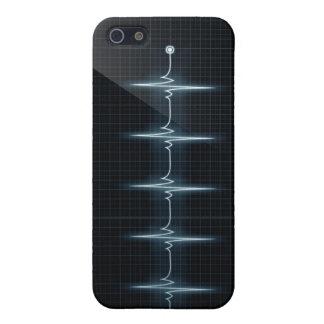 Hjärtatakten pulserar matten för fodral för Tracei iPhone 5 Fodral